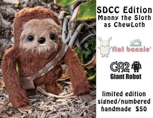 Flat-Bonnie-Giant-Robot-SDCC-Comic-Con-Sloth-Wookie-C4210-Flyer-Blog