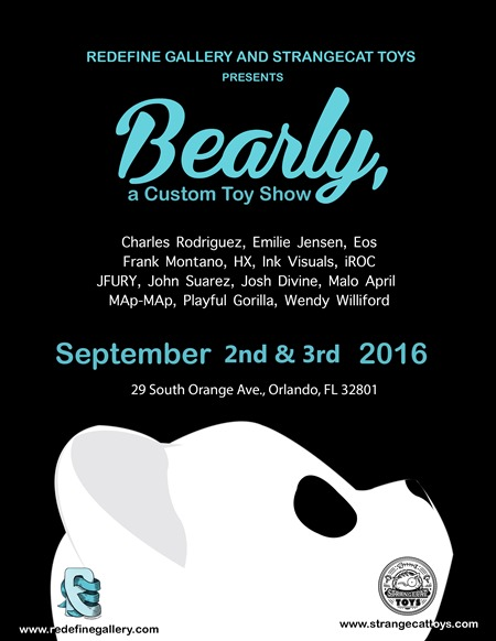 Bearly, a custom toy showdates