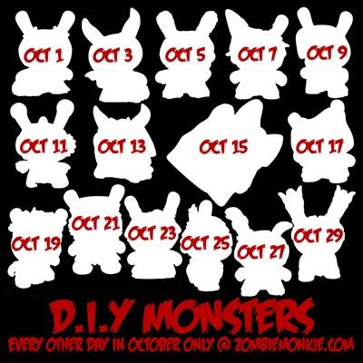DIY Monster week 1