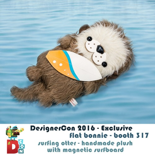 1-Flat-Bonnie-Surfing-Otter-DesignerCon-Exclusive-Booth-Info