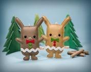 2-Flat-Bonnie-Gingerbun-Ornaments-DesignerCon-Exclusive