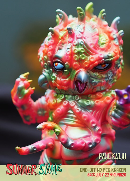 "Amefuri Kozou 6"" Sofubi Toy Collectible Mighty Jaxx Super Kaiju Corps Series"