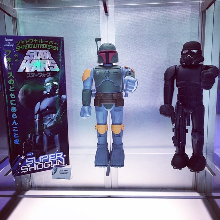 Vinyl Pulse Super7 X Funko Star Wars Super Shogun