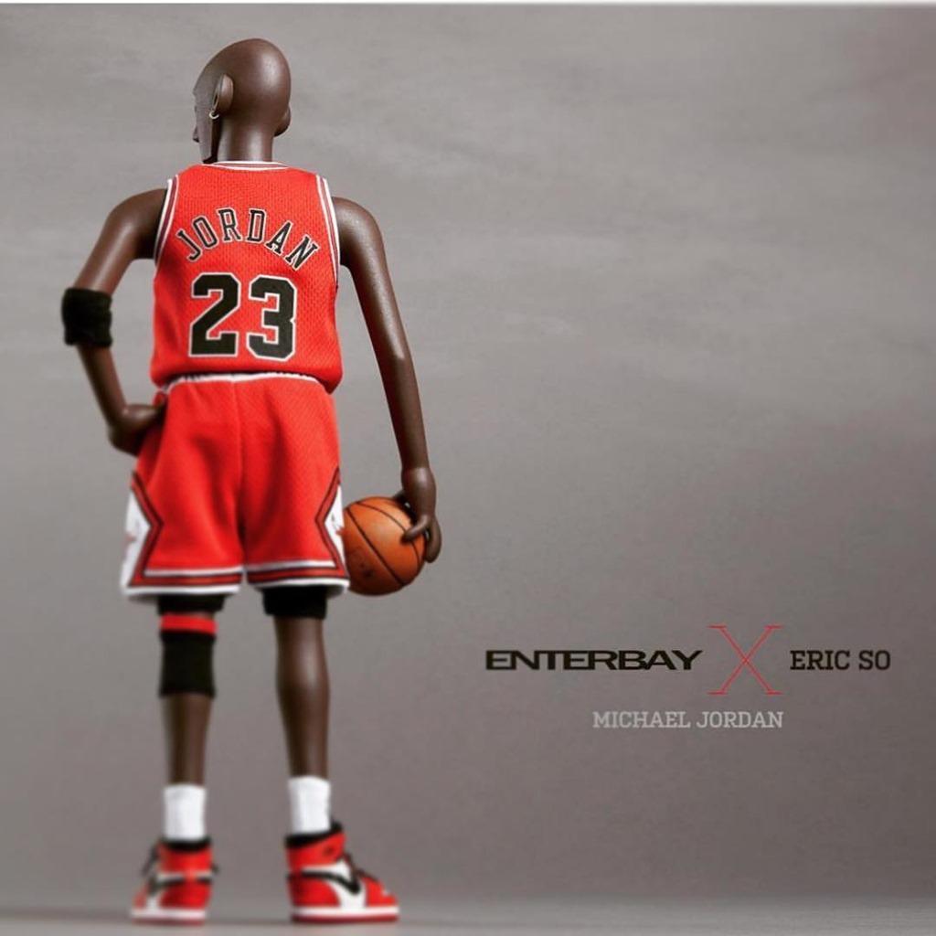 2dfd40e6dc6d Vinyl Pulse  Michael Jordan Figure On the Way Enterbay x Eric So