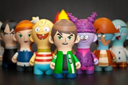 Cartoon Network Toys : Vinyl pulse cartoon network rebrands with tristan eatons