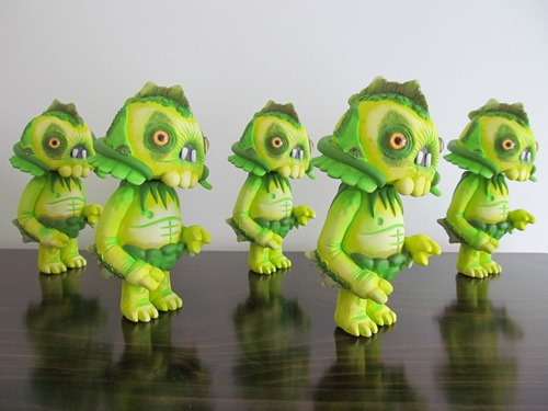 Hunter DCon Swamp Thing Colorway By Brent Nolasco 003