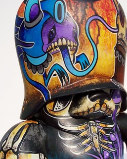 Wreck The Hallz Show Custom TT By Brent Nolasco No.10