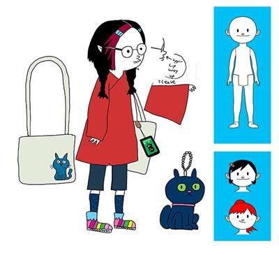 first set of Yuna designs