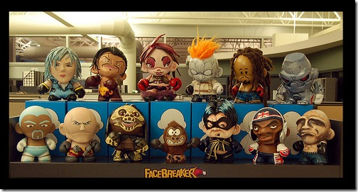 Vinyl Pulse Facebreaker Munnys