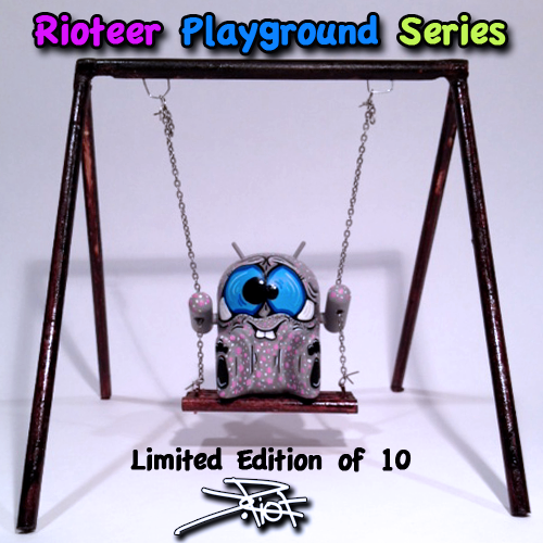 001-rioteer playground series single swing by jriot