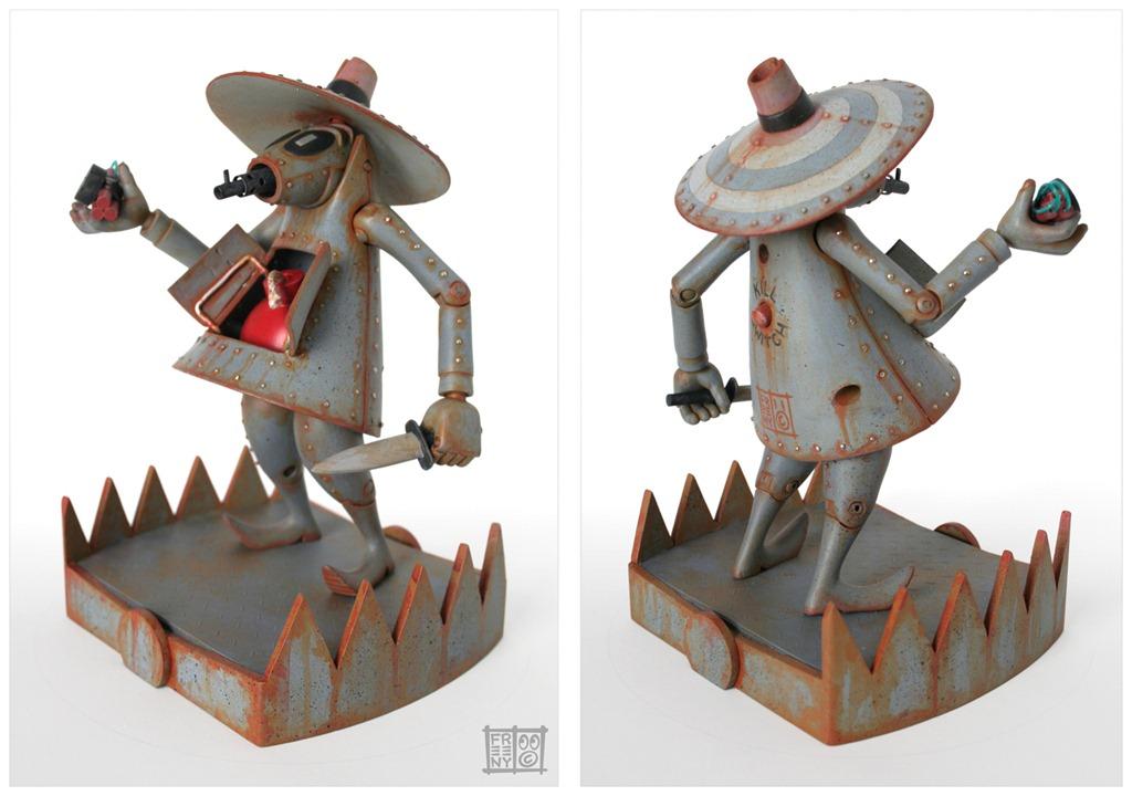 Kids Toys Action Figure: Vinyl Pulse: Jason Freeny Does Spy-vs-Spy