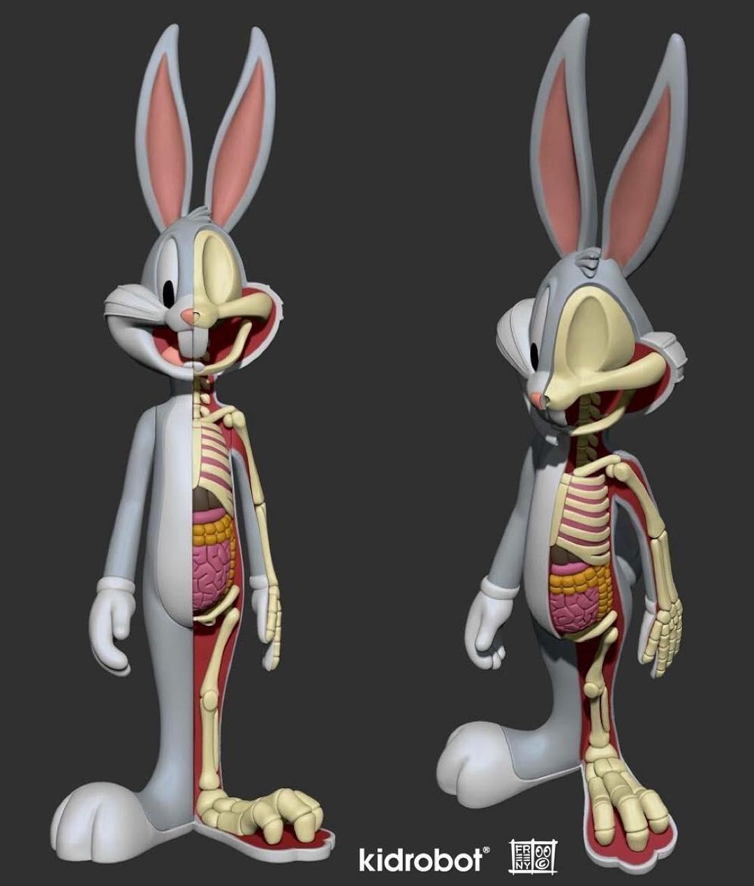 Vinyl Pulse: Jason Freeny x Kidrobot x WB Anatomical Wabbit
