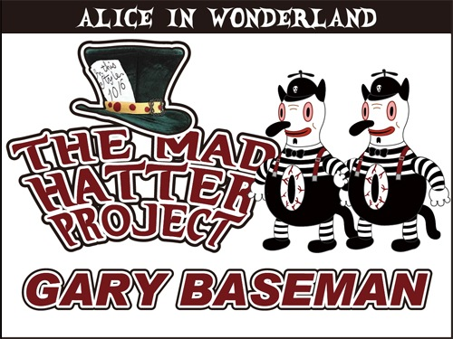 THE-MAD-HATTER-PROJECT-GARY-BASEMAN-BLACK-AND-WHITE