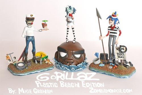 Vinyl Pulse Mikie Graham Gorillaz Plastic Beach Edition