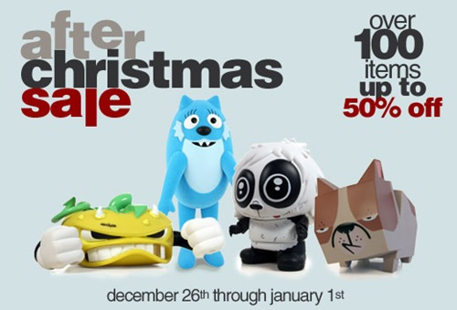 after christmas sales  2010