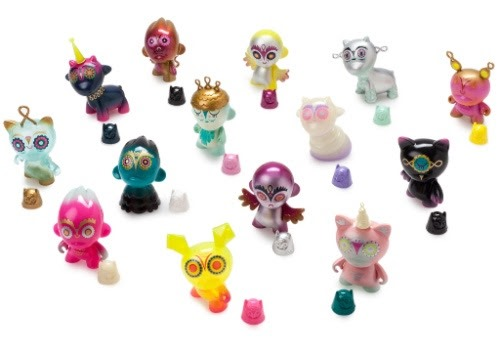 Kidrobot Night Riders by Nathan Jurevicious Mini-Figure Display Case Package of 20