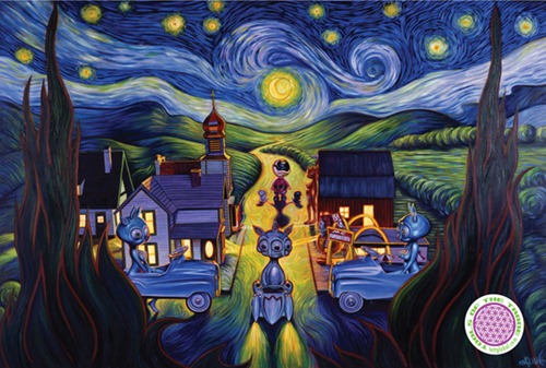 001-Double_Vision_Starry_Night_Poster