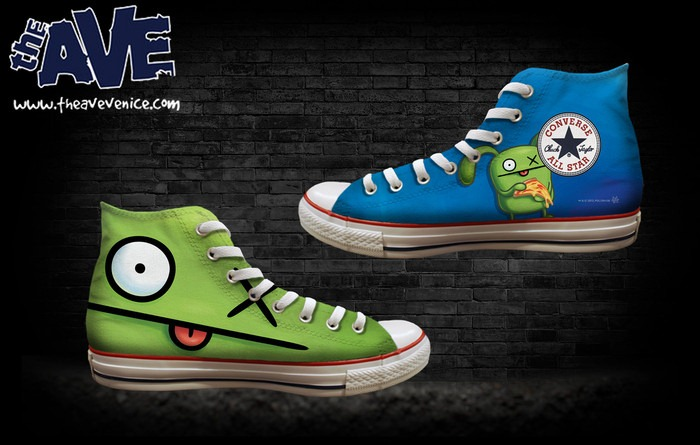 Vinyl Pulse Uglydoll X The Ave Converse Chucks