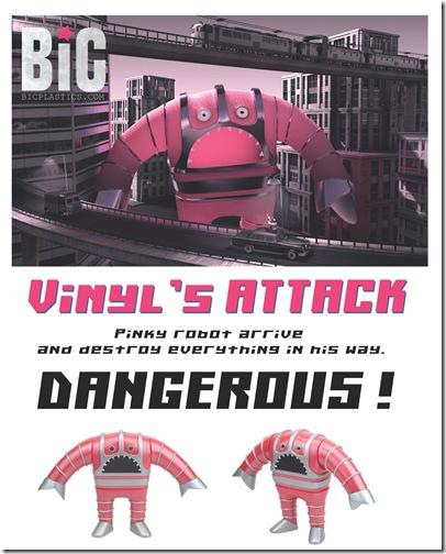 Vinyl's Attack Poster