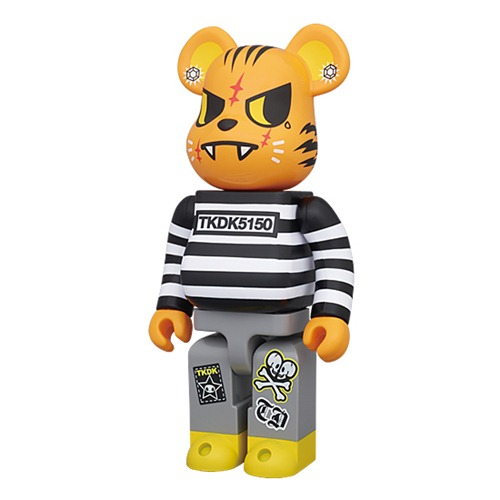 super popular 59218 b906a Vinyl Pulse: tokidoki Tiger Be@rbrick (100% 400%)