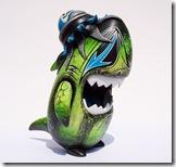 SDCC 2008 Toy Qube Customs By Brent Nolasco  No.01