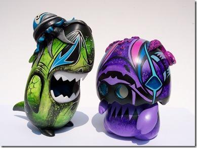 SDCC 2008 Toy Qube Customs By Brent Nolasco  No.10