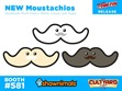 Shawnimals-NYCC-Moustachios