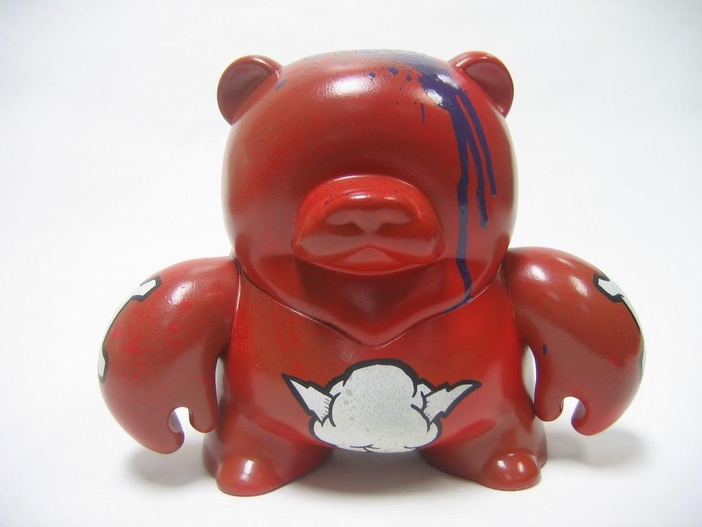 vinyl pulse teddy troop invasion customs available rotofugi blutt
