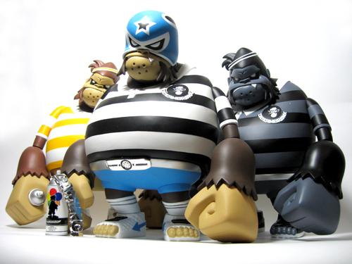 Designer toys DA Minci by Tim Tsui