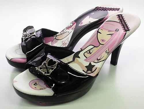 the latest a987a d7df5 Vinyl Pulse: tokidoki x Fornarina - Deva Designer Shoes